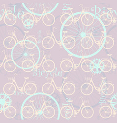 bicycle-list-03 vector image