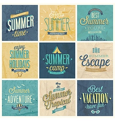summer set2 vector image