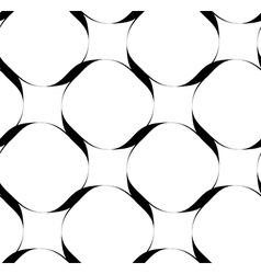 Black and white seamless pattern with stripe line vector