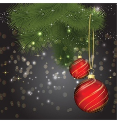 christmas background 1408 vector image