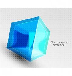 futuristic design vector image vector image