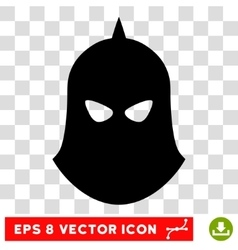 Knight helmet eps icon vector