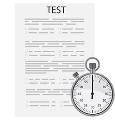 Test exam vector