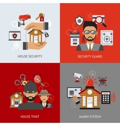 Security Design Concept vector image