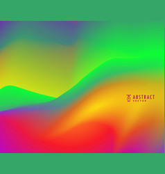 Colorful vibrant wallpaper background vector