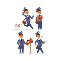 Postman character set vector