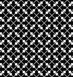 Monochromatic repeating arrow pattern design vector