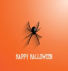 halloween spider background 0509 vector image