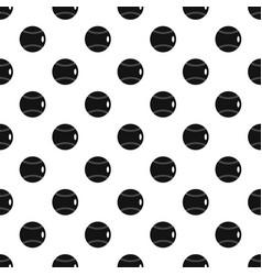 Baseball ball pattern vector