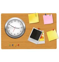 office clock vector image