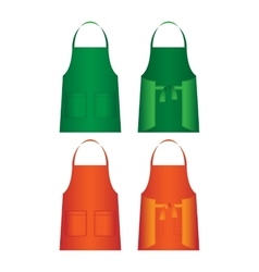 Set of aprons isolated uniform part for several vector