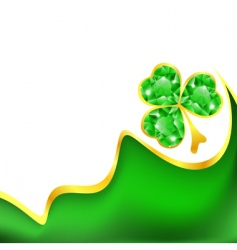 St Patrick's frame vector image vector image
