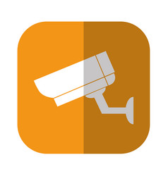 surveillance camera icon vector image