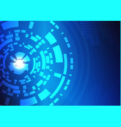 Abstract technology circles background-9 vector