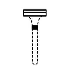 razor icon image vector image vector image