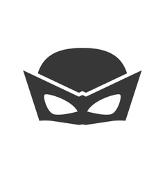 Superhero superman mask design vector