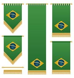 Brazil wall hangings vector