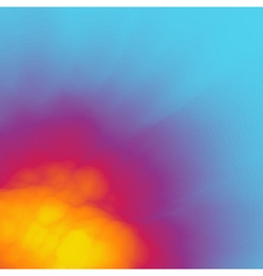 Burst fire and explosion abstract background vector