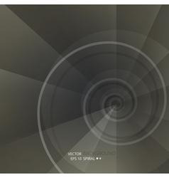 Background with spiral vortex vector
