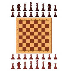 Chess playing figure pawn vector