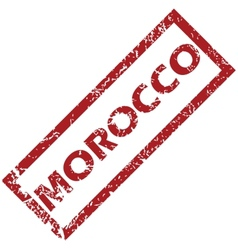 New morocco rubber stamp vector