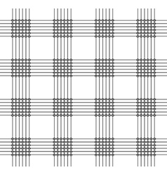 Pattern with squares dots and lines vector