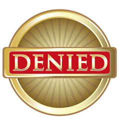 Denied gold label vector