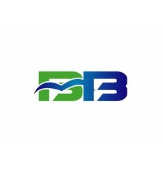 Letter b and d logo vector