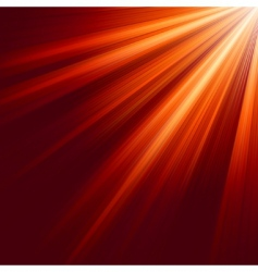 luminous rays background vector image vector image