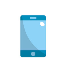 technology smartphone to communicate and speak vector image vector image