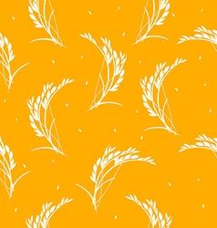 Seamless pattern organic vector image