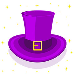 Magic cylinder hat vector