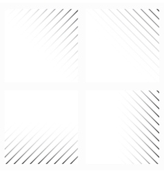 Abstract background in black and white colors vector