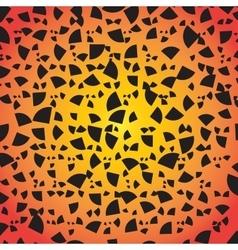 Abstract Geometrical Design Quarter circular vector image