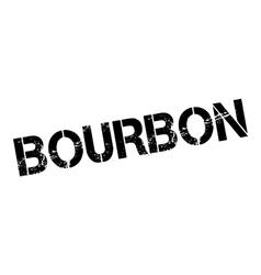 Bourbon rubber stamp vector