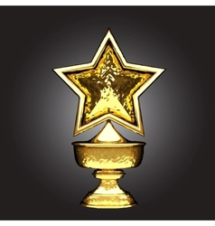 golden award vector image vector image