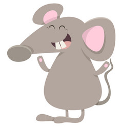 Mouse animal character vector