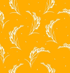 Seamless pattern organic vector image