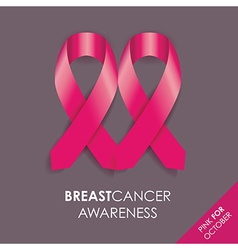 breast cancer background vector image