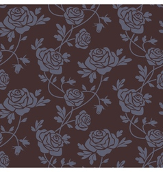 Roses damask vector image