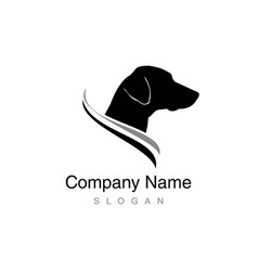 dalmatian logo vector image