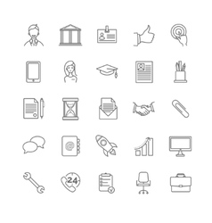 Resume icons set vector