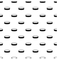 puck pattern vector image