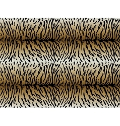 Tiger asymmetric strips seamless pattern vector