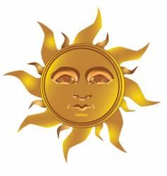 Mayan incan sun vector