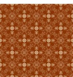 Ornate wallpaper pattern vector