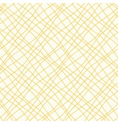 Seamless pattern with crossed wavy lines vector