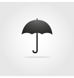 Black simple umbrella stock vector