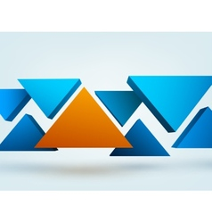 Abstract 3d with place for vector