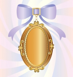 locket vector image vector image